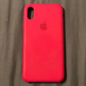 iPhone X/XS Authentic Apple Silicone case
